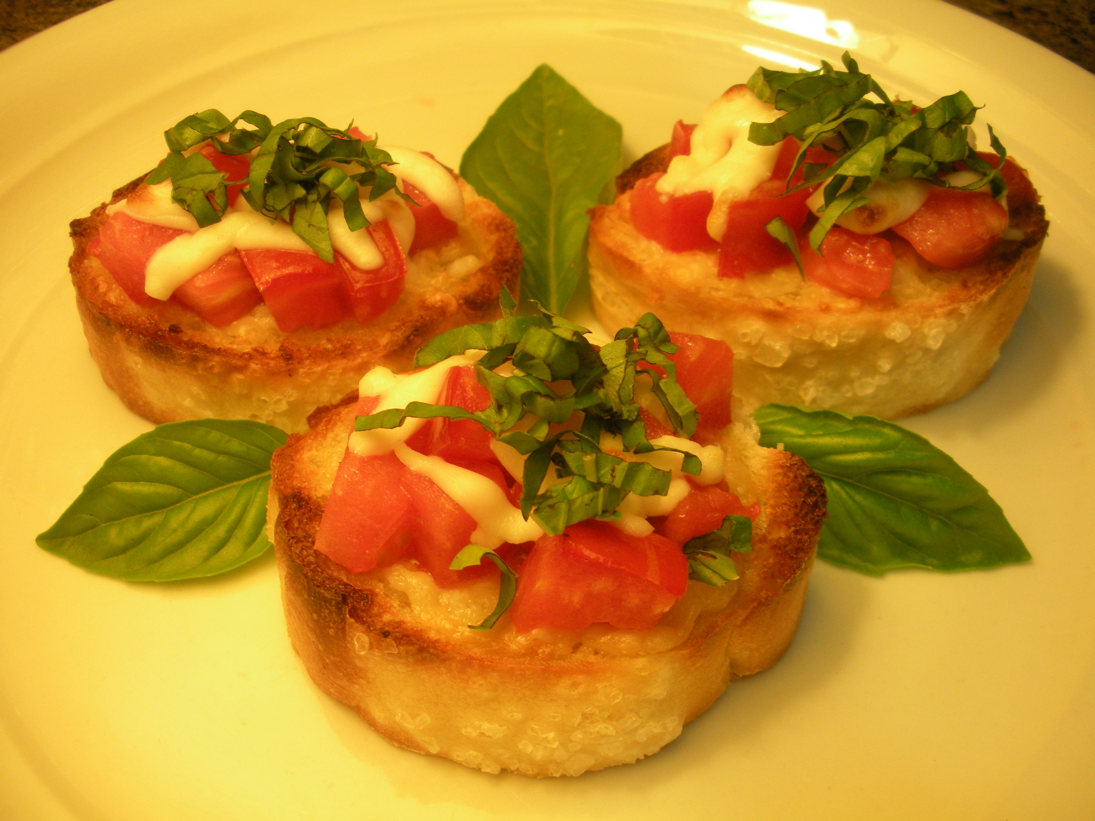 tomato bruschetta the fun food feed. Black Bedroom Furniture Sets. Home Design Ideas