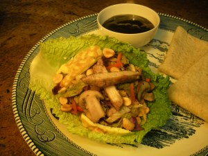 Savoy Cabbage Mu Shu Pork