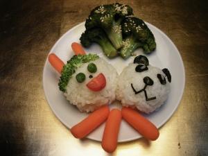 Bunny & Panda Rice Balls